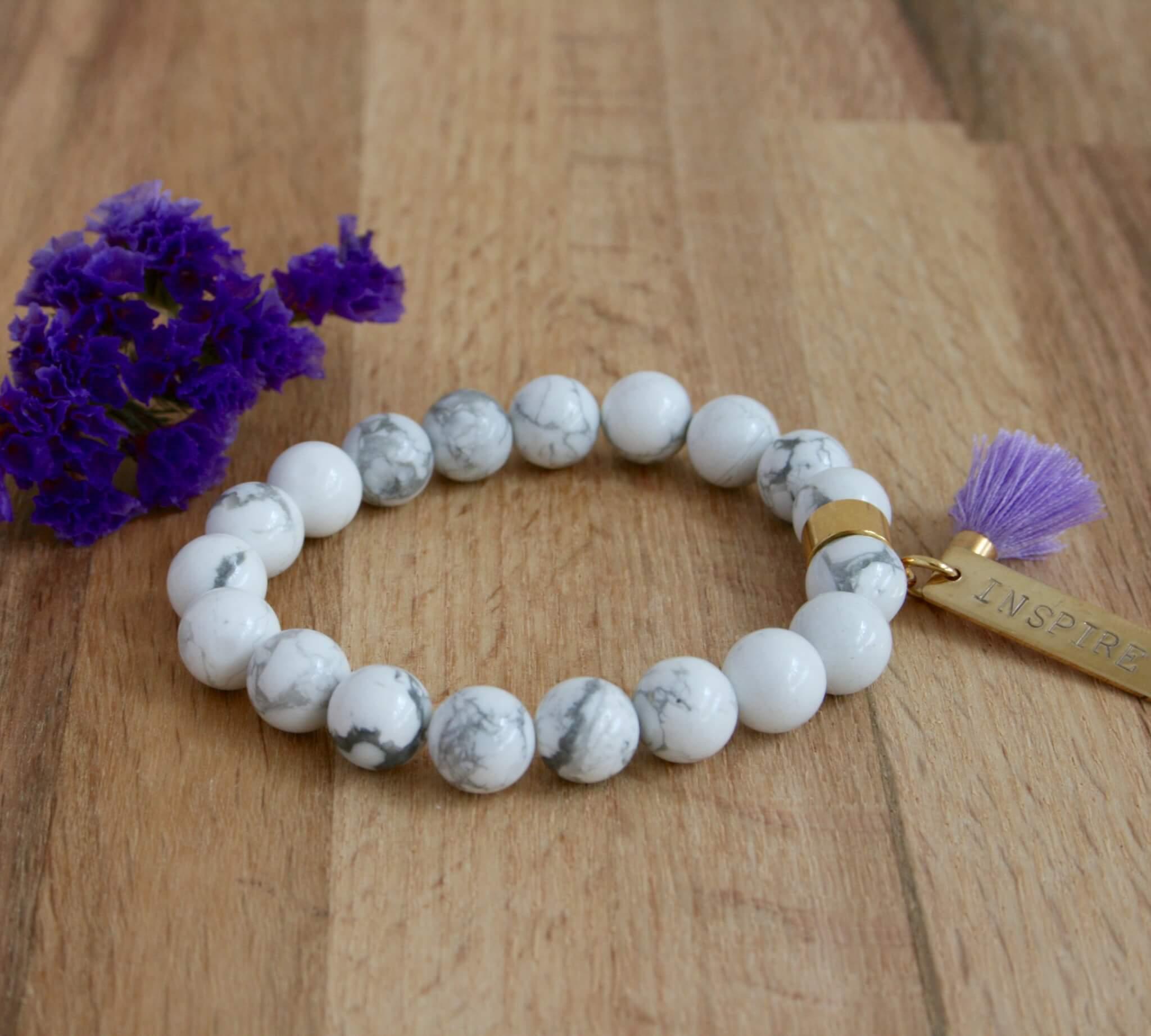 howlite bracelet inspire