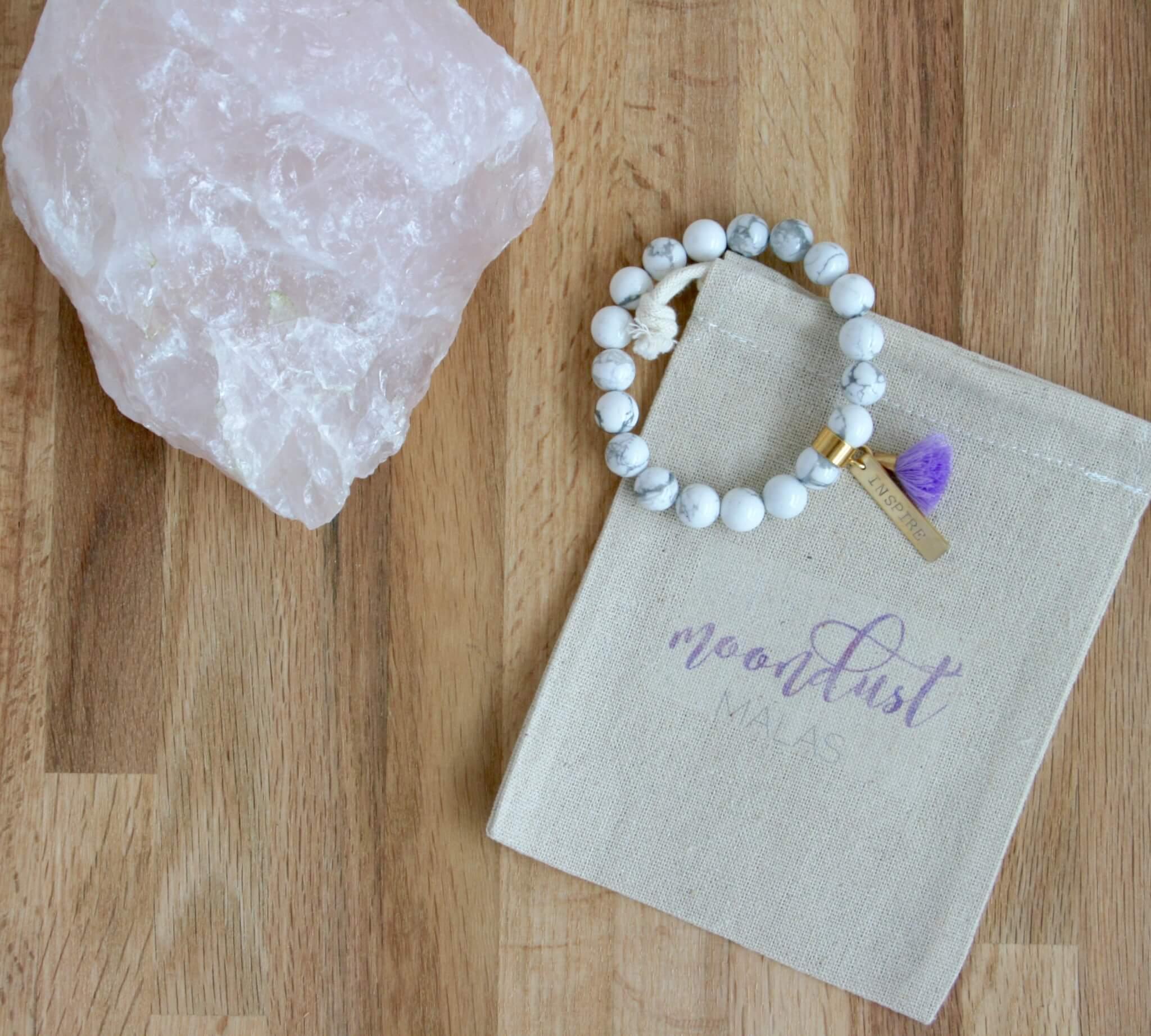 howlite inspire bracelet