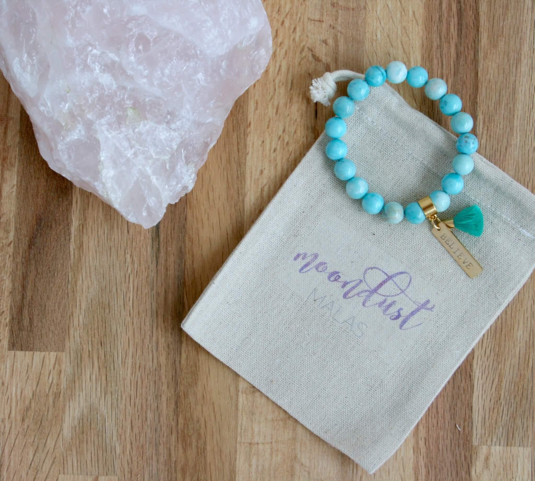 larimar bracelet believe