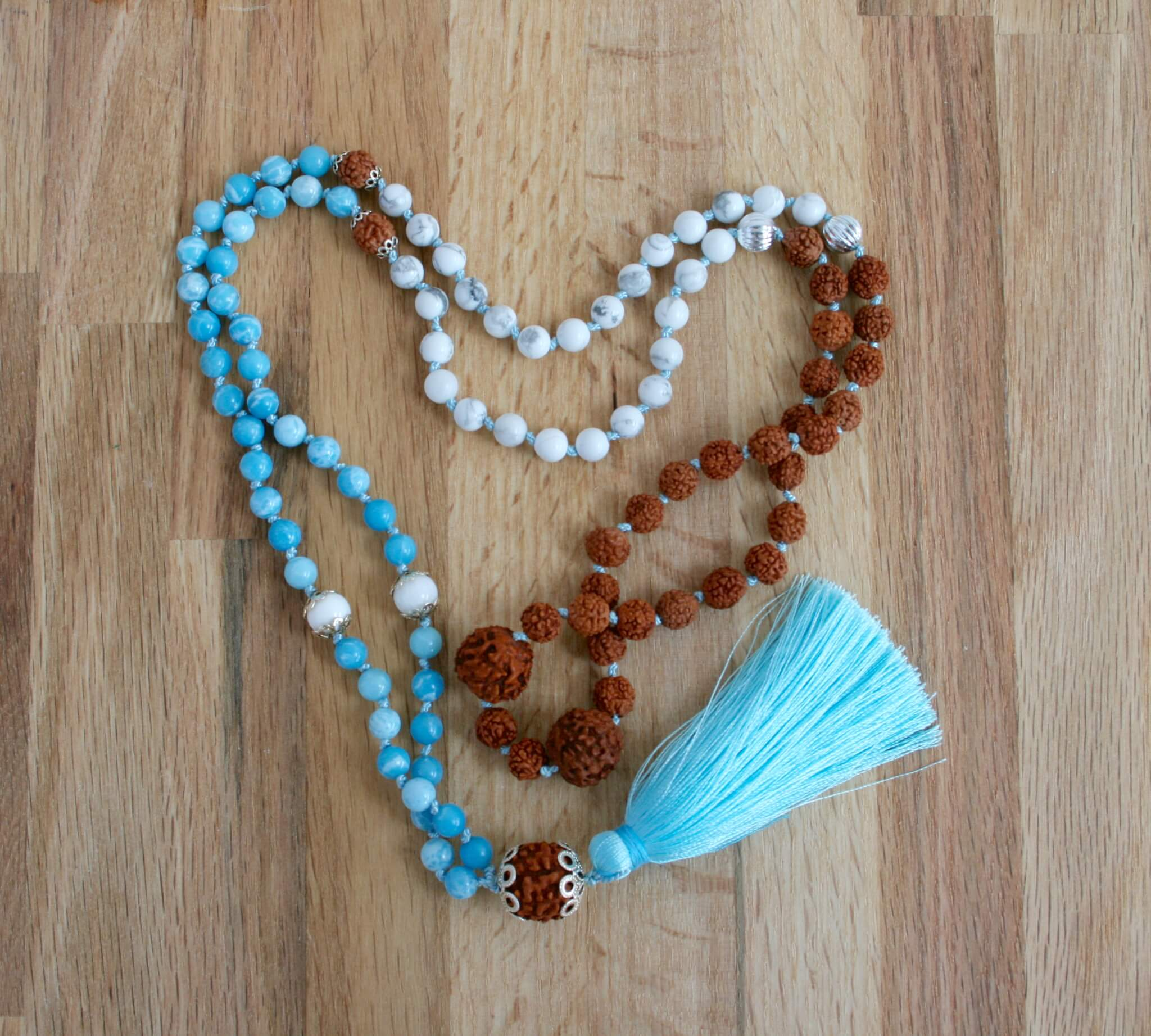 sea breeze necklace mala