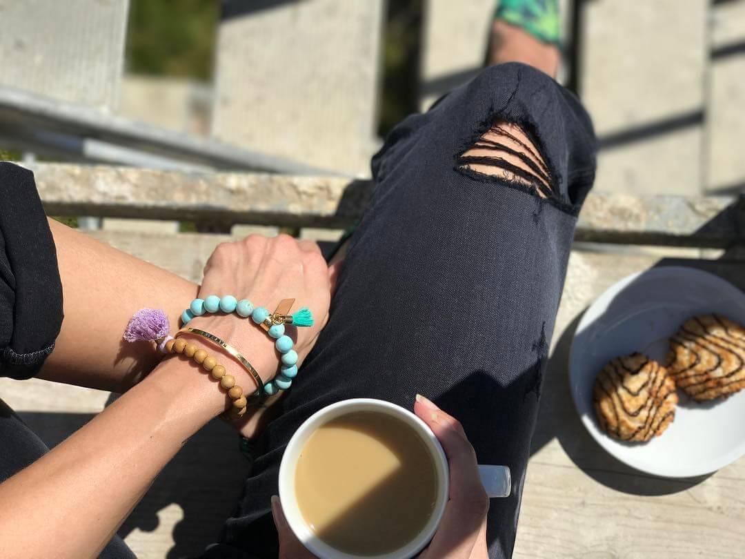 believe larimar bracelet